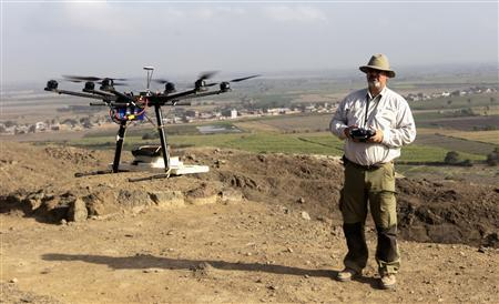 Archaeological drones